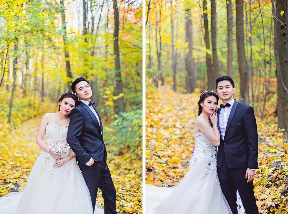podzimni-svatebni-fotografie-nevesty-a-zenicha-z-lesa